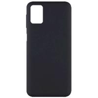 Чехол Silicone cover для Samsung Galaxy M51 (черный)