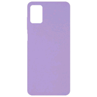 Чехол Silicone cover для Samsung Galaxy M51 (сиреневый)