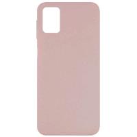 Чехол Silicone cover для Samsung Galaxy M51 (пудра)
