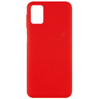 Чехол Silicone cover для Samsung Galaxy M51 (красный)
