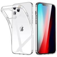 Чехол силиконовый Oucase для iPhone 12/12 Pro (прозрачный)