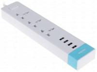Сетевой фильтр 4USB Remax RU - S2(белый)