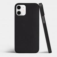 Чехол силиконовый Oucase для iPhone 12 Mini (черный)