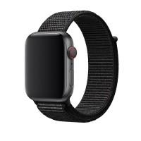 Ремешок нейлоновый для Apple Watch 42/44mm (черный)