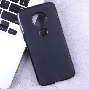 Чехол силиконовый для Motorola Moto G7 Power (черный)
