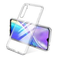 Силиконовый чехол Smtt на Realme 6 pro прозрачный