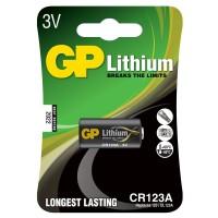 Батарейка GP Lithium CR123A 3V 1 шт