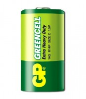БАТАРЕЙКА GP GREENCELL 14G R14 SIZE C 1 ШТ