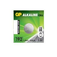 Батарейка GP alkaline LR41 192 AG3 G3  1 шт
