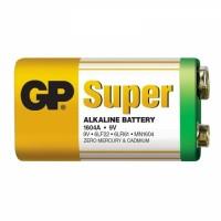 Батарейка GP Super alkaline 9V  6LR61 1604A-S1 Крона 1 шт