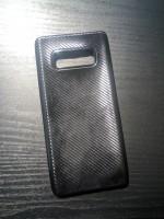 Чехол силиконовый для Samsung Galaxy Note 8, Карбон