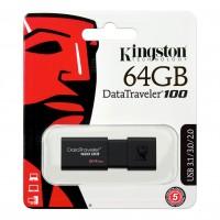 USB накопитель Kingston DataTraveler 100 USB 3.1 64Gb