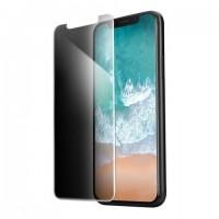 Защитное стекло на iPhone X/XS Privacy Lenyes