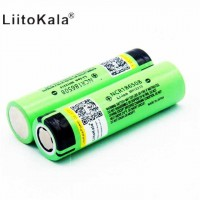 Аккумуляторная батарея liitoKala 18650 3400 mAh