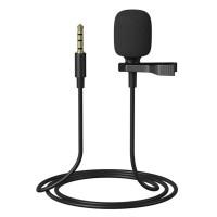 Микрофон петличный REMAX K06 черный
