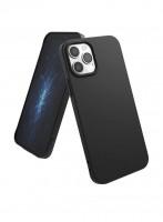 Чехол силиконовый Oucase для iPhone 12 Pro Max (черный)