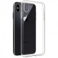 Силиконовый чехол Oucase для iPhone Xr прозрачный