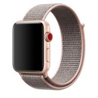 Ремешок нейлоновый для Apple Watch 42/44mm (розовый)