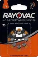 Батарейка для слуховых аппаратов Varta RAYOVAC ZA13  P13 PR48 8шт.