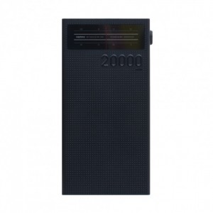 Повербанк Remax Radio RPP-102 20000mAh black
