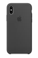 ЧЕХОЛ СИЛИКОНОВЫЙ ДЛЯ IPHONE X / XS (серый)