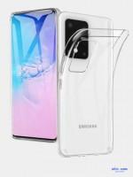Силиконовый чехол на Samsung Galaxy S20/S11E Oucase прозрачный