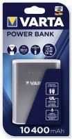 Повербанк Varta 10400mAh 57961 USB кабель