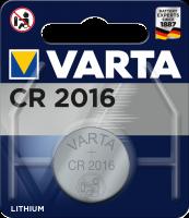 Батарея VARTA Lithium CR2016