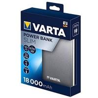 Повербанк Varta 18000mAh SLIM 57967 USB кабель