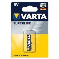 Батарея VARTA ZINC-CARBON SUPERLIFE 9V
