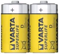 Батарея VARTA ZINC-CARBON SUPERLIFE Type D 2шт.