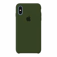 ЧЕХОЛ СИЛИКОНОВЫЙ ДЛЯ IPHONE X / XS (зеленый)
